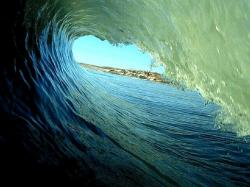 Nature Hd Wave Tube Desktop Wallpaper