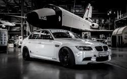 Neat White BMW Wallpaper