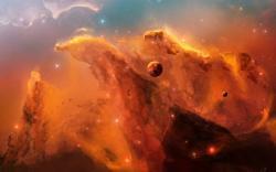 Nebula Star Orange