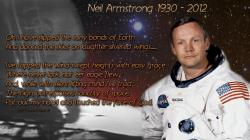 Neil Armstrong Tribute Wallpaper