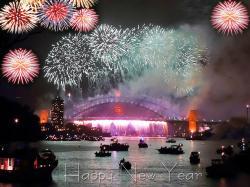 Happy New Year Celebration