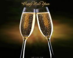 Happy New Year Hd Background Wallpaper 36 Thumb