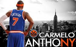 New York Knicks 2014 Carmelo Anthony Wallpaper