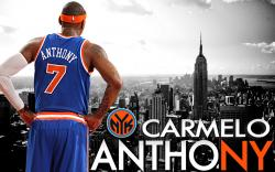 New York Knicks 2014 Carmelo Anthony Wallpaper