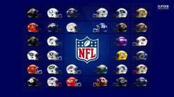 NFL Logos wallpaper 1366x768