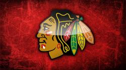NHL Chicago Blackhawks Logo Sport