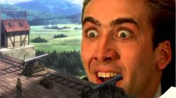 Attack on Nicolas Cage