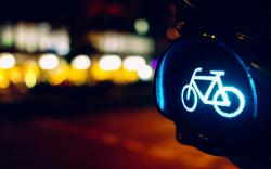 Night Bicycle Lights City