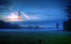 Landscape Nightfall