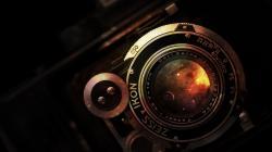 Preview wallpaper camera, lens, vintage, rarity, nikon 2560x1440