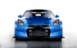 Nissan GT-R Blue Car