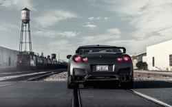 Nissan GT-R Car Tuning Rear