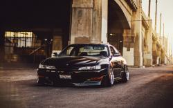 Nissan Silvia 240SX S14 Car Tuning Front