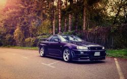 Nissan Skyline GT-R R34 Road