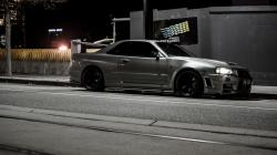 Nissan Skyline R34 Parking
