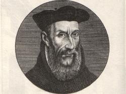 """Nostradamus, whose name means """" ..."""