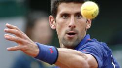Novak Djokovic Training Session. March 21, 2015 by Jim Stone