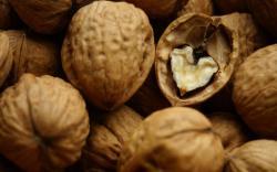 Macro, nuts, food, photography, minimalism, creativity, hearts