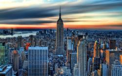 Nyc evening sun Wallpapers Pictures Photos Images · «