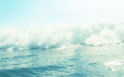 Ocean Bokeh Wallpaper