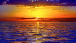 Description: The Wallpaper above is Sunset over Ocean 1 Wallpaper in Resolution 1600x900. Choose your Resolution and Download Sunset over Ocean 1 Wallpaper