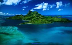 Charming Island Ocean Wallpaper Hd 1920x1200px