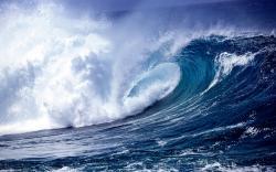 Blue Ocean Waves 13907