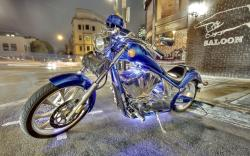 Oceanblue Custom Chopper