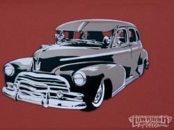 Female Artist Summer Solstiz Old Car