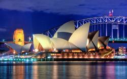 Sydney opera house in australia wallpaper