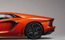 Awesome Orange Car Wallpaper