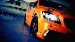 Orange Car Wallpaper HD