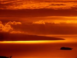 Free Orange Dusk Wallpaper 9065