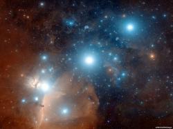 Closeup Image of Orion's Belt