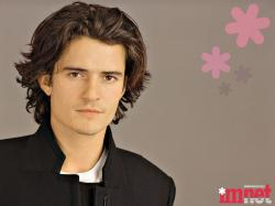 with longer hair - orlando-bloom Wallpaper