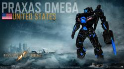 Pacific Rim - Jaeger: Praxas Omega by IzaakGrey