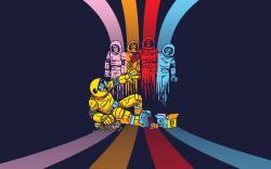 Pac Manic. Pac-Man Wallpaper. Daniel Zuccarelli