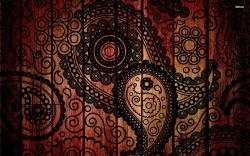 Hd Wallpapers Abstract Paisley ...