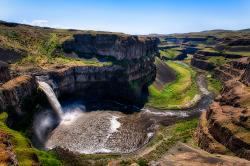 Palouse Falls. Waterfall in Washington, United States