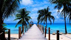 Paradise Beach Wallpaper Images 1920x1080px