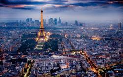 Eiffel Paris Evening