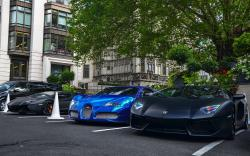 Parking supercars