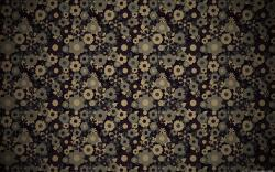Patterned wallpaper Black Sea by pilotaz