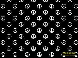 Peace Symbol pattern
