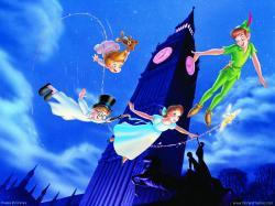 North- Peter Pan!