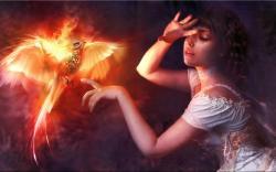 Phoenix Girl Art