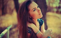 Lovely Eyes Beauty Girl Photo