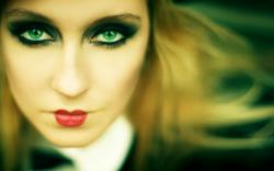 Photography Woman Beauty Blonde Green Eyes