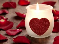 love heart candle hd wallpapers cool desktop background images widescreen