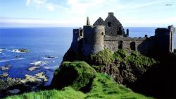 Dunluce Castle, Ireland wallpaper 1280x800 Dunluce Castle, Ireland
